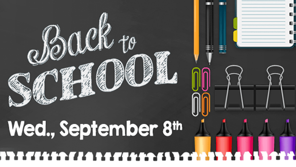 NNPS Back To School: Tuesday, September 3