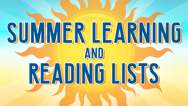 NNPS Summer 2019 Reading Lists